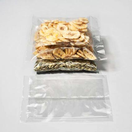 Eco Clear Heat Seal Flat Bags