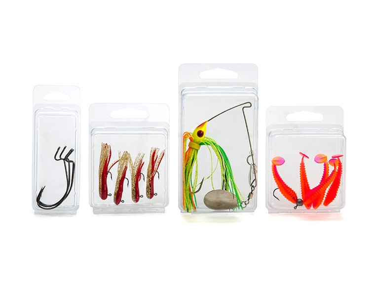 Clear Clamshell Fishing Packaging