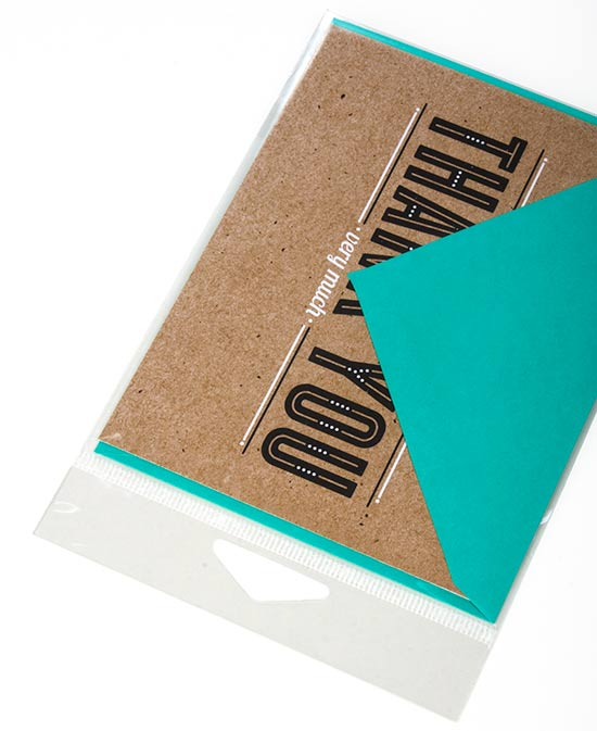 Hanging bags greeting card sleeves stationery packaging hanging bags m4hsunfo