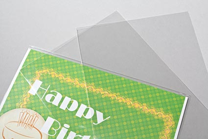 No flap flat bags greeting card sleeves stationery packaging no flap stationery sleeves quick affordable sleeves for covering cards and envelopes m4hsunfo