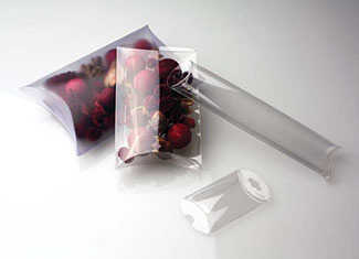 Pillow Boxes - Optional Hangers - Clear Packaging | ClearBags