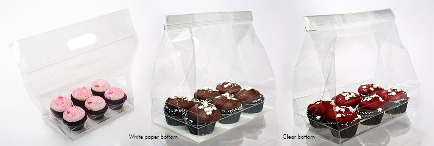 Cupcake Bags for Six