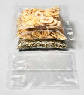 Eco Friendly Flow Seal Bags Compostable Plastic Clearbags