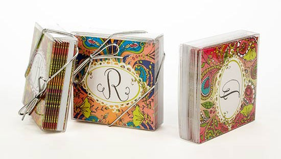 6 Square Greeting Card Boxes