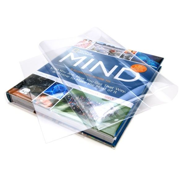 Clear Polypropylene Book Covers Specialty Packaging Clearbags