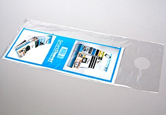 Door Knob Bags Promotional Marketing Crystal Clear Bags