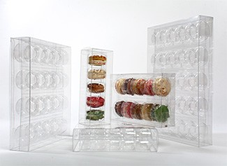 Packaging For Macarons Clear boxes decorative macaroon packaging fresher longer crystal clear macaron packaging is the ideal way to show off your french macarons chocolate dipped oreos and mini donuts sisterspd