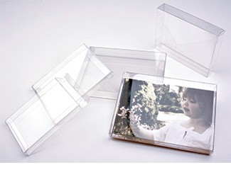 Clear Plastic Boxes Safe Archival Acid Free Photo