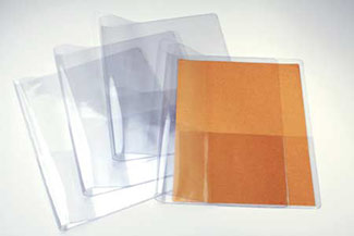 Clear Vinyl Presentation Folders Pocket Folders Clearbags