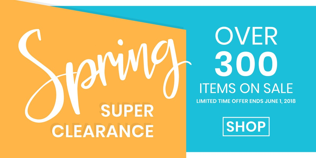 Limited Time Spring Sale