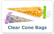 Food Safe Clear Cone Bag