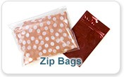 Food Safe Zip Bags