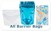 Smell Proof Barrier Bags