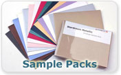 Stationery Sample Packs