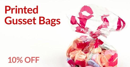 Printed Gusset Bags