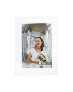Crystal clear protective sleeve with photo