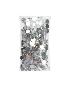 """2 1/4"""" x 4 1/4"""" + Flap, Crystal Clear Bags® (100 Pieces) [B2X4S]"""