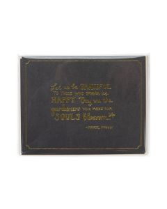 Packaged Greeting Card in Protective Sleeve