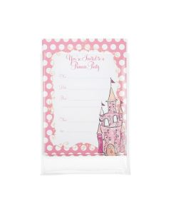"5 11/16"" x 7 1/2"" Invitation inside clear bag"