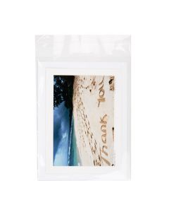 """6 1/4"""" x 8 1/8"""" + Flap, Crystal Clear Bags® (100 Pieces) [B86S]"""