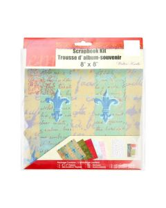 Protective sleeve with scrapbook kit