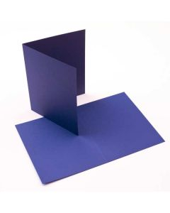 "A7 7"" x 4 7/8"" Basis Blank Card Blue (50 Pieces) [PC017]"
