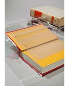 """7 3/4"""" x 15"""" clear book cover"""