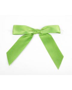 "3 1/2"" Kiwi Pre-tied Bow (100 Pieces) [BOW7KI]"