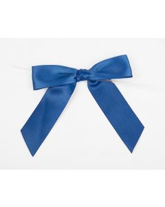 "3 1/2"" Royal Pre-tied Bow (100 Pieces) [BOW7RO]"