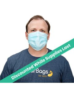 Disposable 3 Layer Mask, Anti Dust (50 Pieces) [CAMK1]