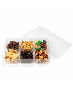"4 1/16"" x 1"" x 5 7/8"" Candy Tackle Box, 6 Cavity, (25 Pieces) [CTBS23]"
