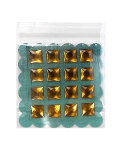 """5 7/16"""" x 5 1/4"""" + Flap Premium Eco Clear Bags (100 Pieces) [GC5X5]"""