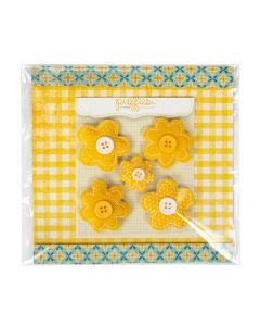 """6 1/4"""" X 6 1/4"""" + Flap, Premium Eco Clear Bags (100 Pieces) [GC66]"""