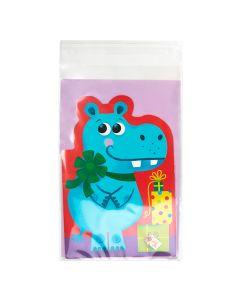"""6"""" x 9 1/2"""" + Flap, Premium Eco Clear Bags (100 Pieces) [GC69H]"""