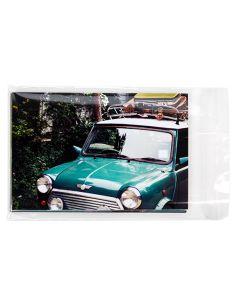 """4 5/8"""" x 6 3/8"""" + Flap, Premium Eco Clear Bags (100 Pieces) [GC4X6XL]"""