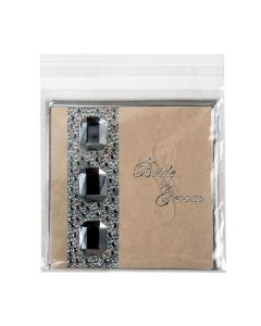 """6 1/4"""" x 6 1/4"""" + Flap, Crystal Clear Bags® (100 Pieces) [B66]"""
