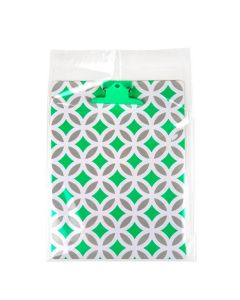 10x13 Clear Adhesive Flap Bag with clipboard