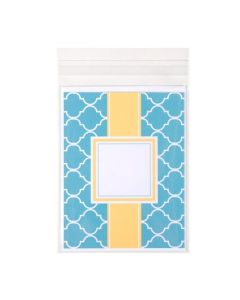 Self Adhesive Flap Bag with stationary