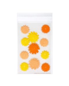 Self Adhesive Protective Flap Bag with stickers