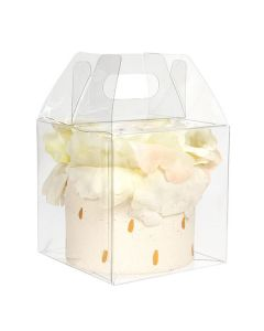 crystal clear food safe assembled box