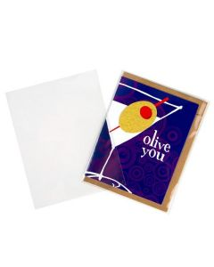 No flap clear greeting card sleeve