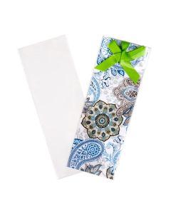 Crystal Clear bookmark sleeve