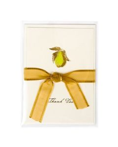 Protective clear bag with greeting card