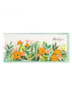 Clear Bag with greeting card