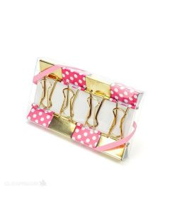 Decorated PaperClips inside Clear Box