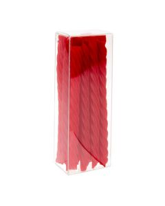 Clear Box with licorice
