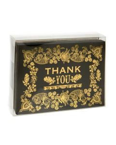 Clear box with greeting card set