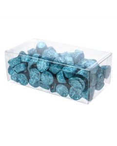 Wrapped candy packaged in box