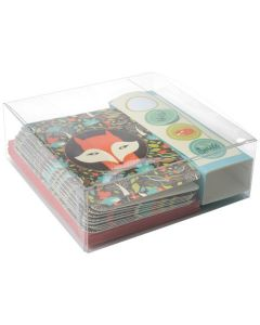 Stationery kit packaged in box