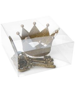 Ornaments packaged in clear box